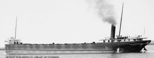 Steamship Umbria same owner & diemensions as Holmes, but built in Cleveland instead of Lorain by American Shipbuilding Company