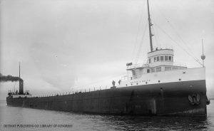 The First Captain of the Holmes(J. B. Ford) was lost on Lake Superior in the Storm of 1913 with all hands.